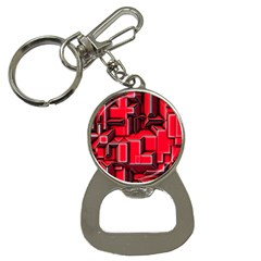 Background With Red Texture Blocks Button Necklaces by Amaryn4rt