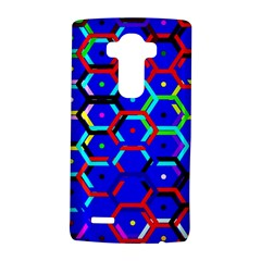 Blue Bee Hive Pattern Lg G4 Hardshell Case by Amaryn4rt