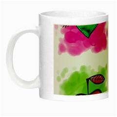 A Set Of Watercolour Icons Night Luminous Mugs by Amaryn4rt