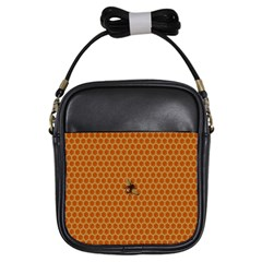 The Lonely Bee Girls Sling Bags by Amaryn4rt