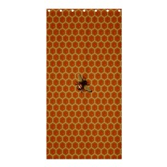 The Lonely Bee Shower Curtain 36  X 72  (stall)  by Amaryn4rt