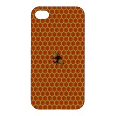 The Lonely Bee Apple Iphone 4/4s Hardshell Case by Amaryn4rt