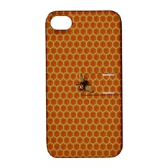 The Lonely Bee Apple Iphone 4/4s Hardshell Case With Stand by Amaryn4rt