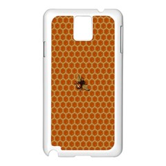 The Lonely Bee Samsung Galaxy Note 3 N9005 Case (white) by Amaryn4rt