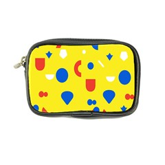 Circle Triangle Red Blue Yellow White Sign Coin Purse