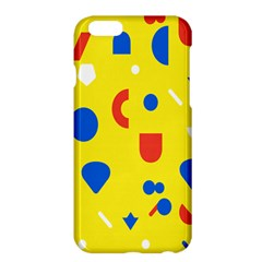 Circle Triangle Red Blue Yellow White Sign Apple Iphone 6 Plus/6s Plus Hardshell Case by Alisyart