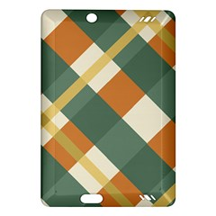 Autumn Plaid Amazon Kindle Fire Hd (2013) Hardshell Case by Alisyart
