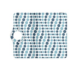 Circle Blue Grey Line Waves Kindle Fire Hdx 8 9  Flip 360 Case by Alisyart