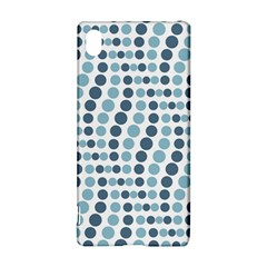 Circle Blue Grey Line Waves Sony Xperia Z3+ by Alisyart