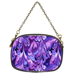 Purple Marble  Chain Purses (one Side)  by KirstenStar