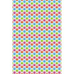 Colorful Floral Seamless Red Blue Green Pink 5 5  X 8 5  Notebooks by Alisyart