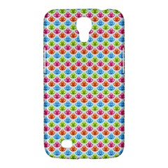 Colorful Floral Seamless Red Blue Green Pink Samsung Galaxy Mega 6 3  I9200 Hardshell Case by Alisyart