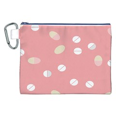 Drug Pink Canvas Cosmetic Bag (xxl) by Alisyart