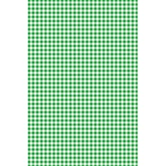 Green Tablecloth Plaid Line 5 5  X 8 5  Notebooks by Alisyart