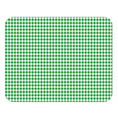Green Tablecloth Plaid Line Double Sided Flano Blanket (large)  by Alisyart