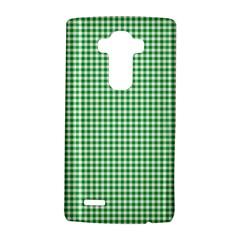 Green Tablecloth Plaid Line Lg G4 Hardshell Case by Alisyart