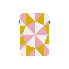 Learning Connection Circle Triangle Pink White Orange Apple Ipad Mini Protective Soft Cases by Alisyart