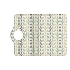 Leaf Triangle Grey Blue Gold Line Frame Kindle Fire Hd (2013) Flip 360 Case by Alisyart