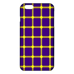 Optical Illusions Circle Line Yellow Blue Iphone 6 Plus/6s Plus Tpu Case by Alisyart