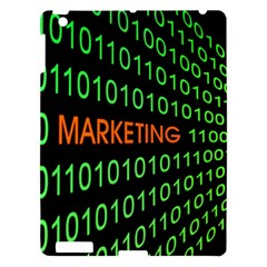 Marketing Runing Number Apple Ipad 3/4 Hardshell Case by Alisyart