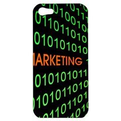 Marketing Runing Number Apple Iphone 5 Hardshell Case by Alisyart