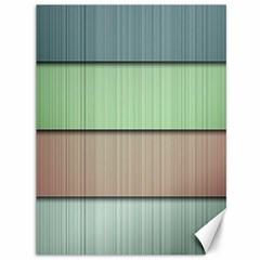 Modern Texture Blue Green Red Grey Chevron Wave Line Canvas 36  X 48   by Alisyart