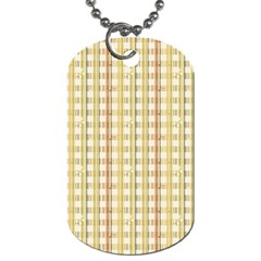 Tomboy Line Yellow Red Dog Tag (two Sides) by Alisyart