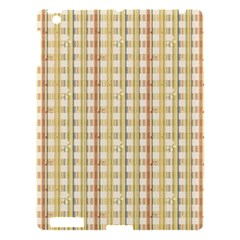 Tomboy Line Yellow Red Apple Ipad 3/4 Hardshell Case by Alisyart