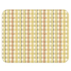 Tomboy Line Yellow Red Double Sided Flano Blanket (medium)  by Alisyart