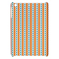 Sunflower Orange Gold Blue Floral Apple Ipad Mini Hardshell Case by Alisyart