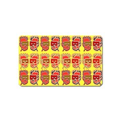 Funny Faces Magnet (name Card) by Amaryn4rt
