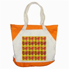 Funny Faces Accent Tote Bag by Amaryn4rt