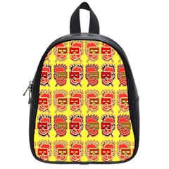 Funny Faces School Bags (small)  by Amaryn4rt