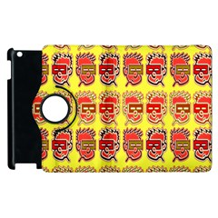 Funny Faces Apple Ipad 2 Flip 360 Case by Amaryn4rt