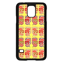 Funny Faces Samsung Galaxy S5 Case (black) by Amaryn4rt