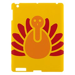 Animals Bird Pet Turkey Red Orange Yellow Apple Ipad 3/4 Hardshell Case by Alisyart