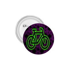 Bike Graphic Neon Colors Pink Purple Green Bicycle Light 1 75  Buttons by Alisyart