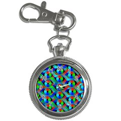 Bee Hive Color Disks Key Chain Watches by Amaryn4rt
