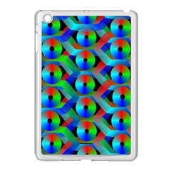 Bee Hive Color Disks Apple Ipad Mini Case (white) by Amaryn4rt