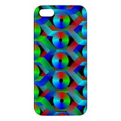 Bee Hive Color Disks Iphone 5s/ Se Premium Hardshell Case by Amaryn4rt