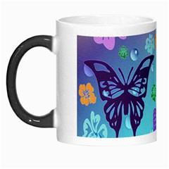 Butterfly Vector Background Morph Mugs by Amaryn4rt