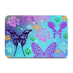 Butterfly Vector Background Plate Mats by Amaryn4rt