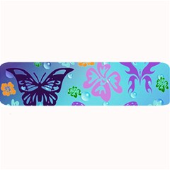 Butterfly Vector Background Large Bar Mats by Amaryn4rt