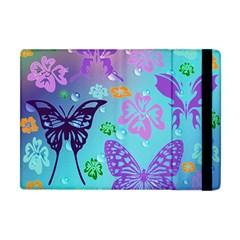Butterfly Vector Background Apple Ipad Mini Flip Case