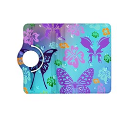 Butterfly Vector Background Kindle Fire Hd (2013) Flip 360 Case by Amaryn4rt