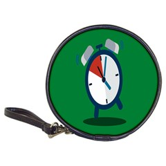 Alarm Clock Weker Time Red Blue Green Classic 20 Cd Wallets by Alisyart