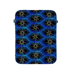 Blue Bee Hive Pattern Apple Ipad 2/3/4 Protective Soft Cases by Amaryn4rt