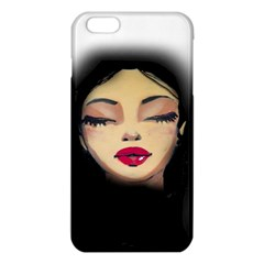 Girl Iphone 6 Plus/6s Plus Tpu Case by Valentinaart