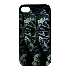 Wild Child Apple Iphone 4/4s Hardshell Case With Stand by Valentinaart