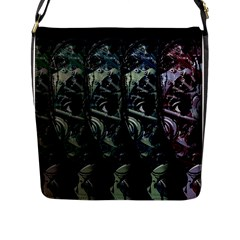 Wild Child Flap Messenger Bag (l)  by Valentinaart